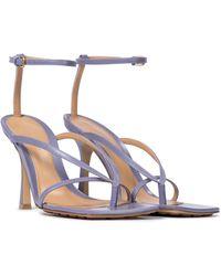 Bottega Veneta Stretch Leather Sandals - Multicolour