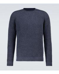 Sease Sloop Crewneck Sweater - Blue
