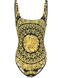 Versace Printed Swimsuit - Multicolor