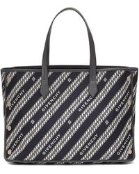 Givenchy Shopping Bag Bond mittleres Modell - Schwarz