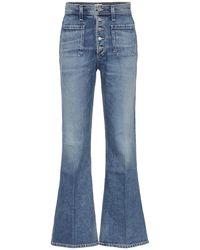 Citizens of Humanity Jeans Maisie flared a vita alta - Blu
