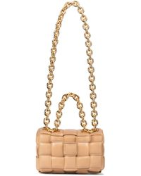 Bottega Veneta - Sac The Chain Cassette en cuir - Lyst