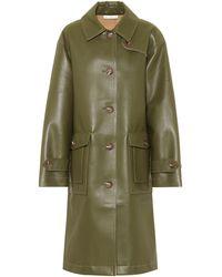 Rejina Pyo Joanna Faux-leather Coat - Green