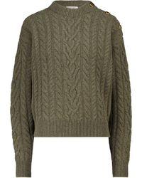Blazé Milano Pullover aus Wolle und Kaschmir - Grün