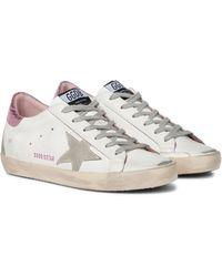Golden Goose Sneakers Superstar aus Leder - Weiß