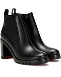 Christian Louboutin Ankle Boots Marchacroche 70 - Schwarz