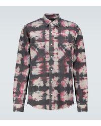 Amiri Camisa de manga larga tie-dye - Multicolor