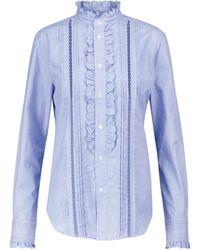 Polo Ralph Lauren Camicia in popeline di cotone - Blu