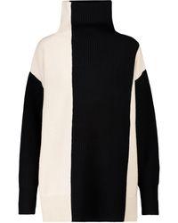 JOSEPH Jersey de lana de cuello alto - Negro