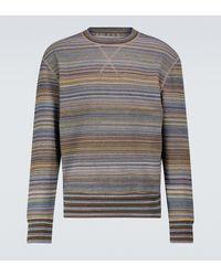 Missoni Sweat-shirt en coton - Gris