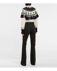 Golden Goose High-rise Flared Jeans - Black