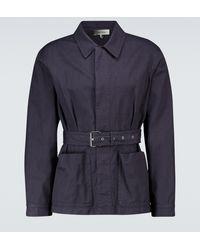 Isabel Marant Pepper Belted Jacket - Blue