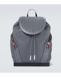 Christian Louboutin Explorafunk Empire Backpack - Grey