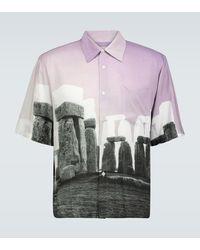 Aries Chemise Stonehenge Hawaiian - Multicolore