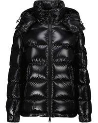 Moncler Maire Hooded Down Jacket - Black