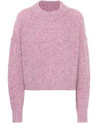 Isabel Marant Cropped-Pullover aus Kaschmir - Pink