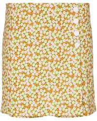 Tory Sport Mini-jupe à fleurs - Multicolore