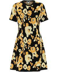 KENZO Floral Jacquard Dress - Multicolor