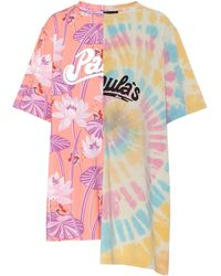 Loewe Paula's Ibiza Oversized Cotton T-shirt - Multicolor