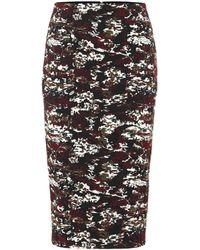Victoria Beckham 3/4 Length Skirt - Black