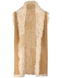Polo Ralph Lauren Reversible Shearling Vest - Brown