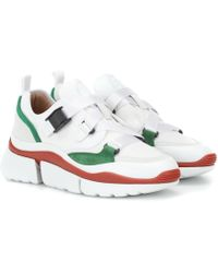 Chloé Sonnie Low-top Sneakers - White