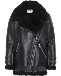 Acne Studios - Velocite Shearling Jacket - Lyst