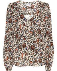 Velvet Carly Floral Blouse - Multicolour