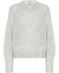 Isabel Marant Pullover Ivah in mohair - Grigio