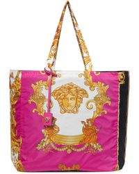 Versace Shopper Medusa Medium con stampa - Rosa