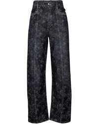Chloé Jeans de tiro alto - Gris