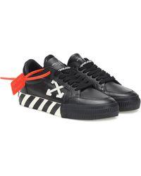 Off-White c/o Virgil Abloh 'Vulcanized' Sneakers - Schwarz