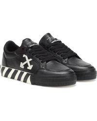 Off-White c/o Virgil Abloh Vulcanized Low-top Trainers - Black
