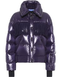 Moncler Genius 3 Moncler Grenoble Pouri Fringed Quilted Down Ski Jacket - Blue