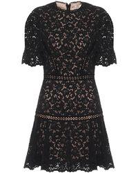 Jonathan Simkhai Vestido corto Holly de encaje - Negro