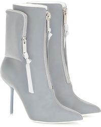 Unravel Project Embellished Ankle Boots - Gray