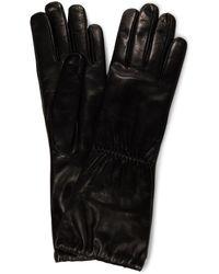 Bottega Veneta Guantes de piel - Negro