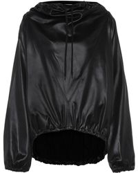Givenchy Draped Hoodie - Black