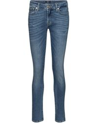 7 For All Mankind - Pyper Mid-rise Slim Jeans - Lyst