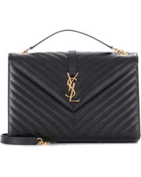 Saint Laurent - Large Monogram Envelope Shoulder Bag - Lyst