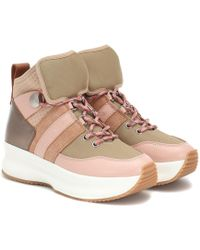 See By Chloé High Top Sneakers - Multicolor