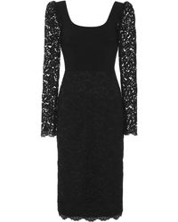 Rebecca Vallance Le Saint Lace Dress - Black
