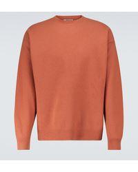 AURALEE Pullover aus Wolle - Orange