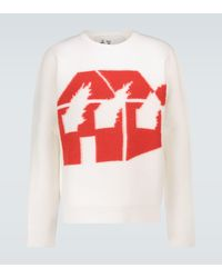JW Anderson Pullover Burning House - Mehrfarbig