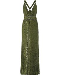 Dundas Sequined Gown - Green