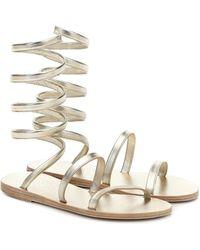 Ancient Greek Sandals - Sandales Ofis en cuir - Lyst