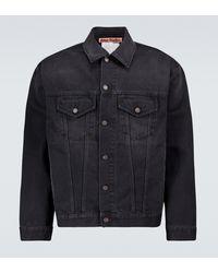Acne Studios Chaqueta Robin de jeans - Negro