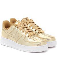 Nike 'Air Force 1 SP' Sneakers - Mettallic