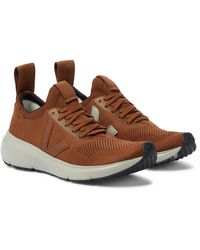 Rick Owens X VEJA Sneakers Low Sock - Braun