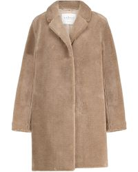 Velvet Trishelle Faux Fur Coat - Brown